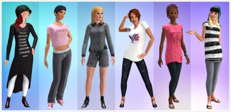 Одежда 55DSL в The Sims 3 Store