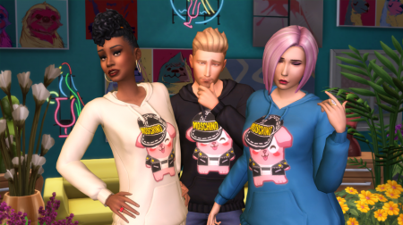 Moschino и The Sims