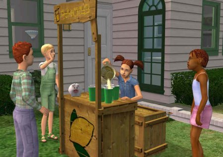 Скриншоты дополнения The Sims 2 Open for Business (1-20)