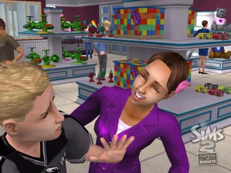 Скриншоты дополнения The Sims 2 Open for Business (21-38)