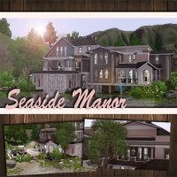 "Дом ""Seaside Manor"" для The Sims 3"
