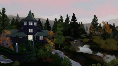 "Городок ""Suumsims Entworld"" для The Sims 3"